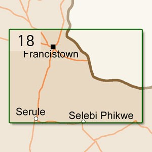 Francistown [1:250.000]
