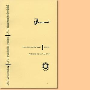 JOURNAL Vol. 23 (1968-69)