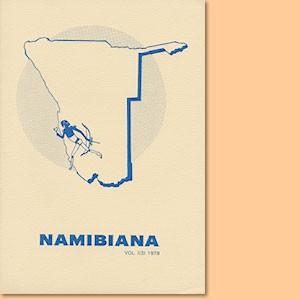 Namibiana Vol. I (3) 1979