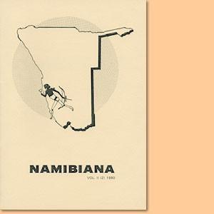 Namibiana Vol. II (2) 1980