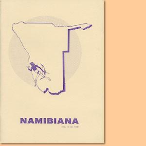 Namibiana Vol. III (2) 1981