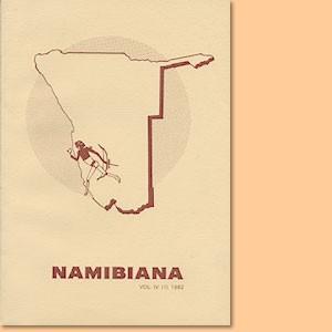Namibiana Vol. IV (1) 1982