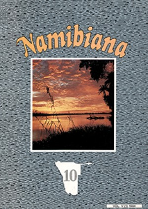 Namibiana Vol. V (1) 1984