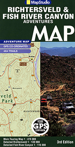 Richtersveld & Fish River Canyon Road Map (MapStudio)