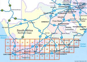 Cape Town to Port Elizabeth Road Atlas including East London ...