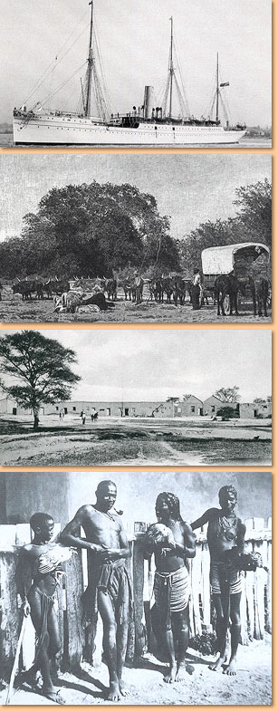 Adventure in South West Africa 1894 - 1898