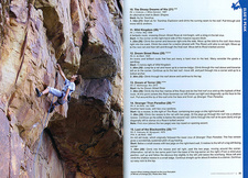 Excerpt from Tony Lourens's trad climbing guide 'Cape Peninsula Select' (ISBN 9780620574693)