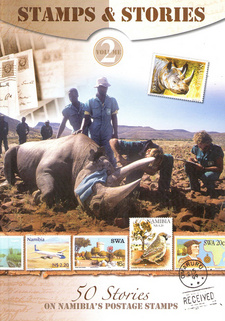 50 Stories of Namibia's Postage Stamps Vol 2, by Antje Otto et al.  Gondwana Collection Namibia. Windhoek, Namibia 2013. ISBN 9789991688862 / ISBN 978-99916-888-6-2