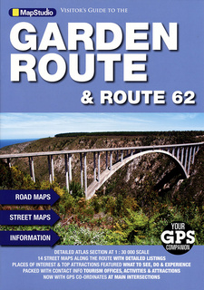 Visitor's guide to the Garden Route & Route 62 (MapStudio). 3rd edition. Cape Town, South Africa 2015. ISBN 9781770267916 / ISBN 978-1-77026-791-6