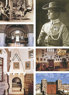 Duwisib, a German castle in Namibia and its master Hansheinrich von Wolf, by Harald N. Nestroy.