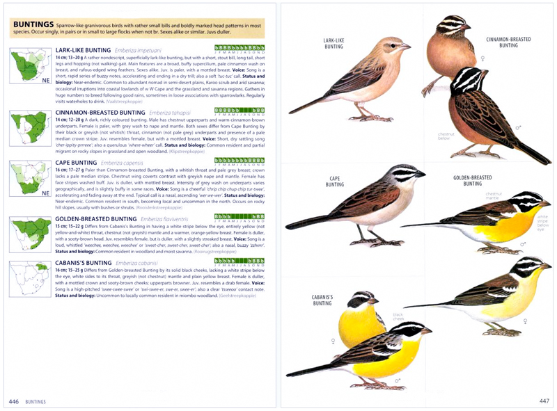 Birds of Southern Africa Fourth Edition