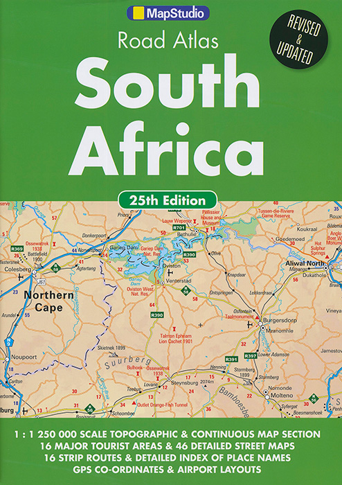 South Africa Road Atlas (MapStudio), by Publisher MapStudio ...